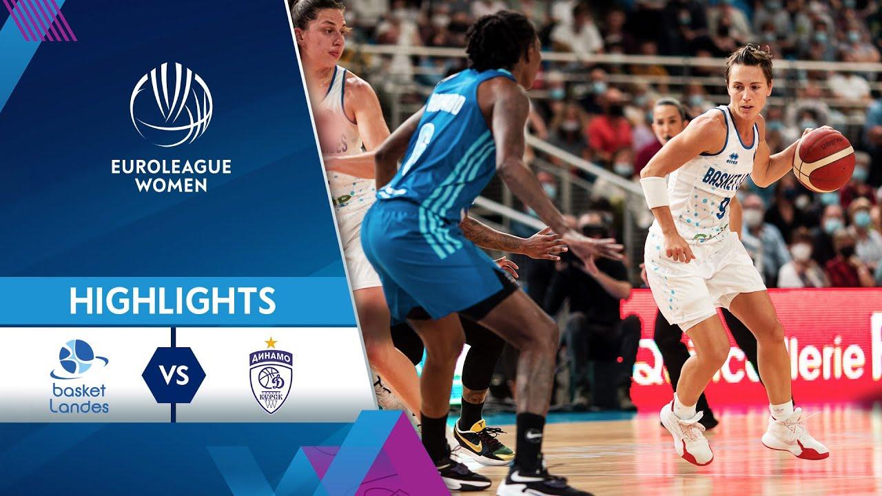 Basket Landes - Dynamo Kursk | Highlights | EuroLeague Women 2021/22