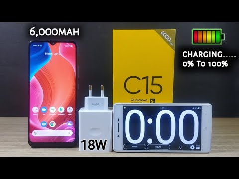 Download Realme C15 Charging Speed Test|| 0% To 100% || 6000mah Battery || 18W Fast Charging || In Hindi/Urdu