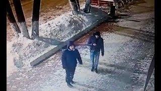 В Нижнекамске неизвестные попытались ограбить женщину, их лица сняла камера наблюдения