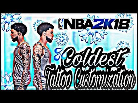 !!! Coldest Arm Sleeve Tattoo Customization/Tutorial !!! Rock the coldest arm sleeves NBA2K18