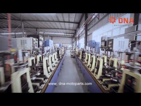 Mufflers for motorcycles by DNA