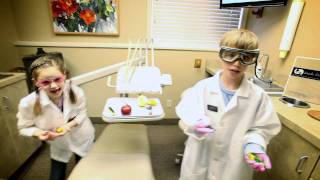 Outrageous Dentist lipdub video This practice uses hands-on experiments to teach kids healthy habits