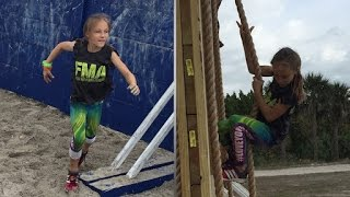 Little Girl Runs Navy Obstacle Course For Bullied Kids Everywhere