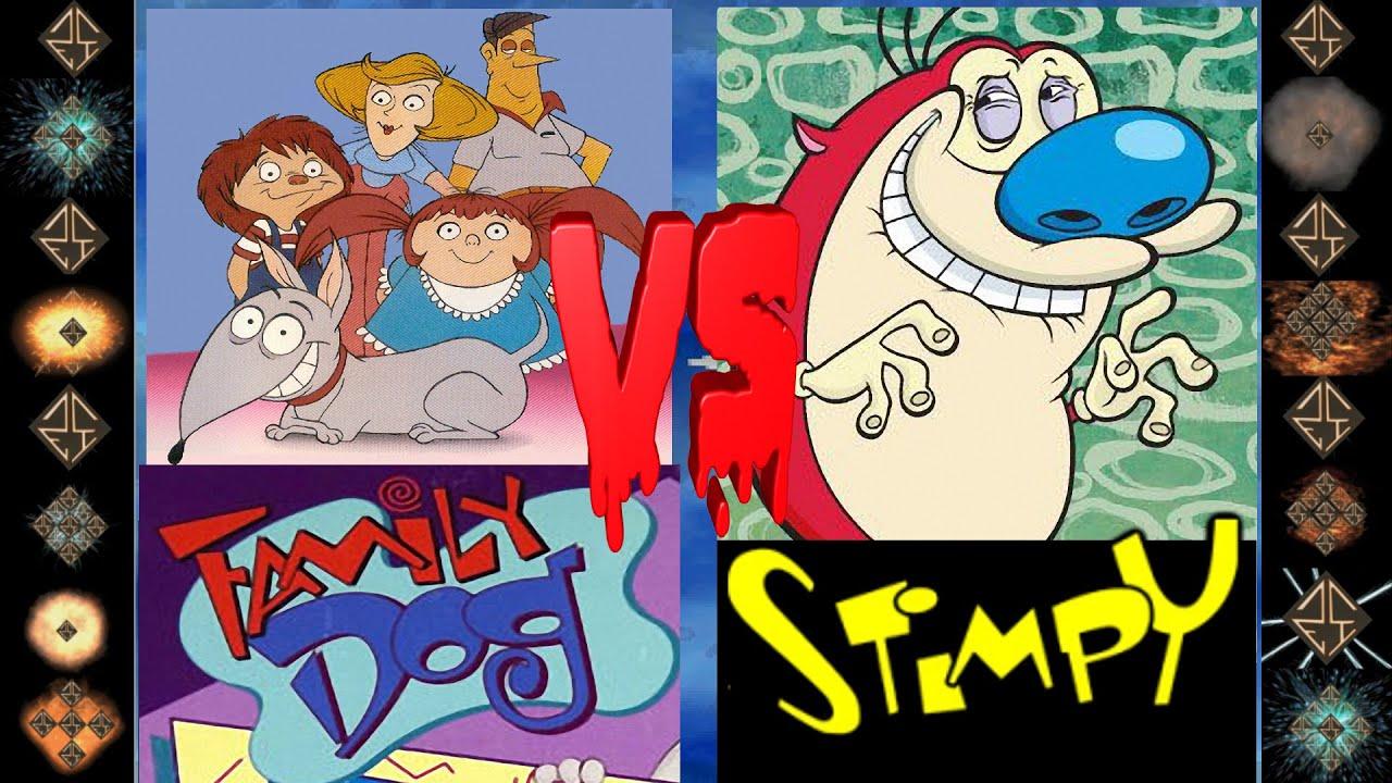 Download Family Dog (Amazing Stories) vs Stimpy (John Kricfalusi) - Ultimate Mugen Fight 2016