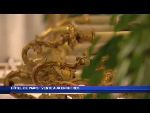 Vente aux enchères à l'Hôtel de Paris