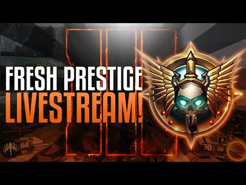 Black Ops 3: FRESH PRESTIGE LIVE STREAM! (Call of Duty: Black Ops 3 Multiplayer Gameplay PS4)
