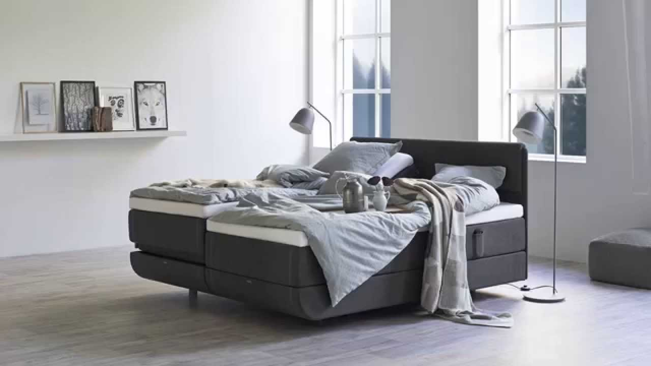 Tempur north boxspring bett bei reidelshöfer   youtube