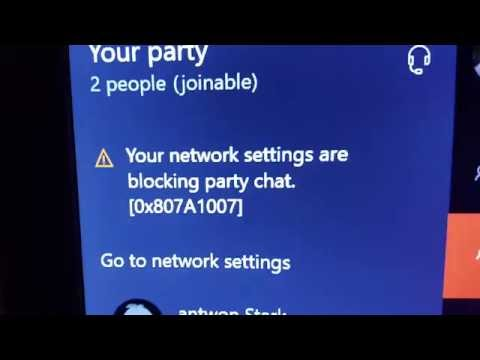 Your Network Settings Are Blocking Party Chat FIX!!