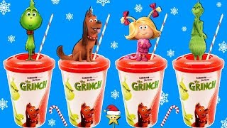 THE GRINCH MOVIE CUPS GAME: Find The Grinch's Heart! Surprise Movie Toys