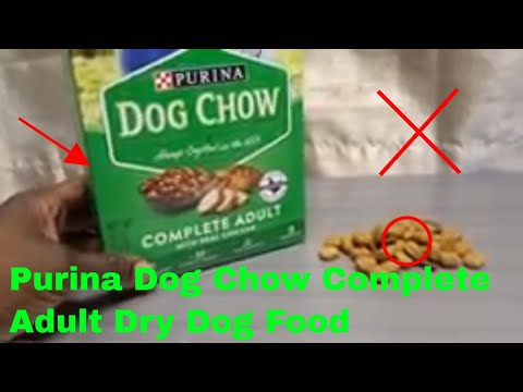 ✅  How To Use Purina Dog Chow Complete Adult Dry Dog Food Review