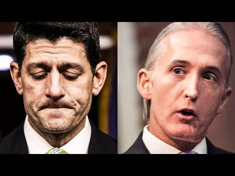 Paul Ryan Ordered Trey Gowdy To Babysit Devin Nunes During Recent Meeting