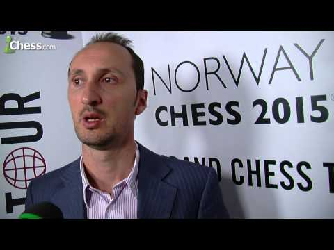 Veselin Topalov Interview After Winning Norway Chess