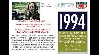 Luigi Grimaldi racconta la storia di Ilaria Alpi e Miran Hrovatin  1°