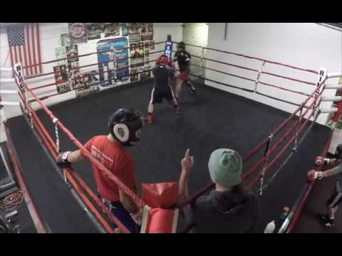 Sunday Sparring at 3rd St Gym