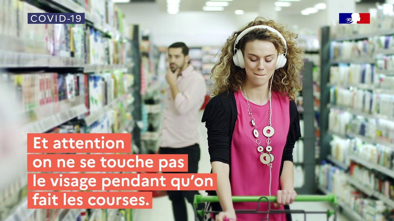 Ma vie quotidienne, épisode 1 : comment faire ses courses ? | COVID-19 | Gouvernement