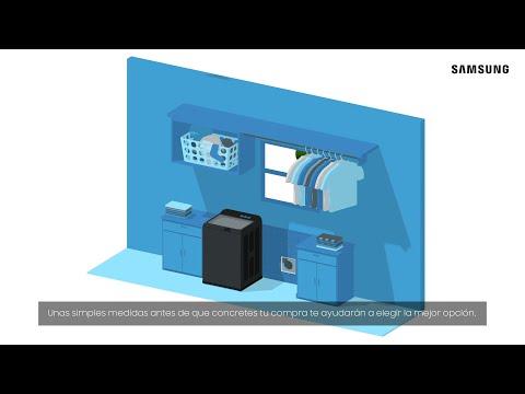 Samsung - How to: Cómo medir tu lavadora