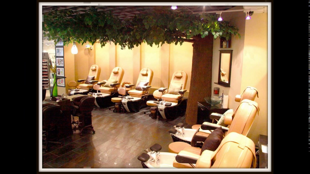 Small nail salon design ideas - YouTube