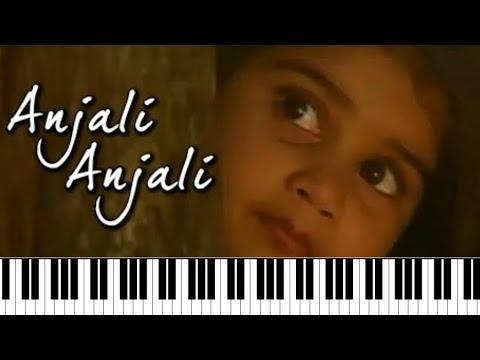 Anjali Anjali ♫ | Tamil Super Hit Song Notes | Piano 4 U ♫ Cover