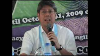 Sen. Kiko Pangilinan talks about age-old problems and the need for CHANGE