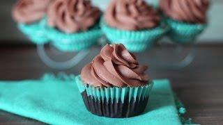 Cupcakes au chocolat / طريقة عمل الكب كيك بالشوكولاتة