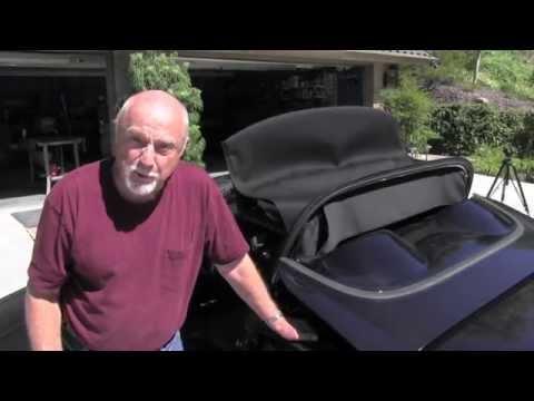 Corvette C6 Convertible Top Problem, Part 1