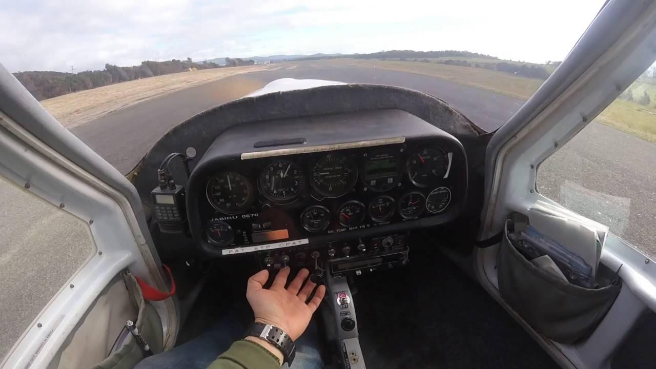 Take Off In Jabiru LSA-55