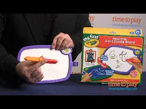 My First Crayola Mess-Free 2-in-1 Doodle Board From Crayola