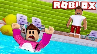 I DRED IN A POOL ? Cerso roblox in Spanish