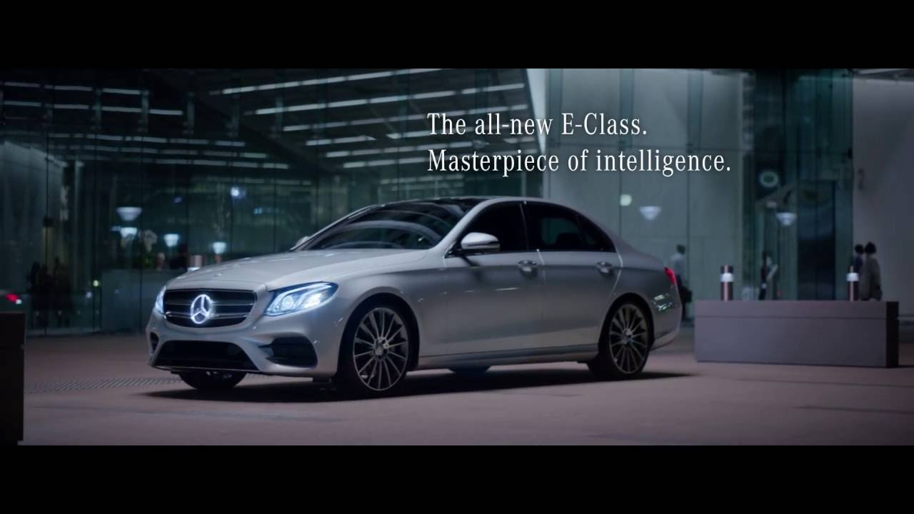 2017 e class commercial the future mercedes benz for Mercedes benz commercial