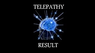 Telepathy experiment results Dec 2013