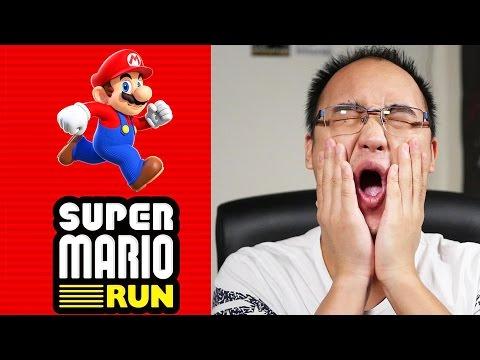LE NOUVEAU JEU DE MARIO EST SORTI ! | Super Mario Run