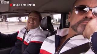 george michael in james cordens first carpool karaoke for comic relief