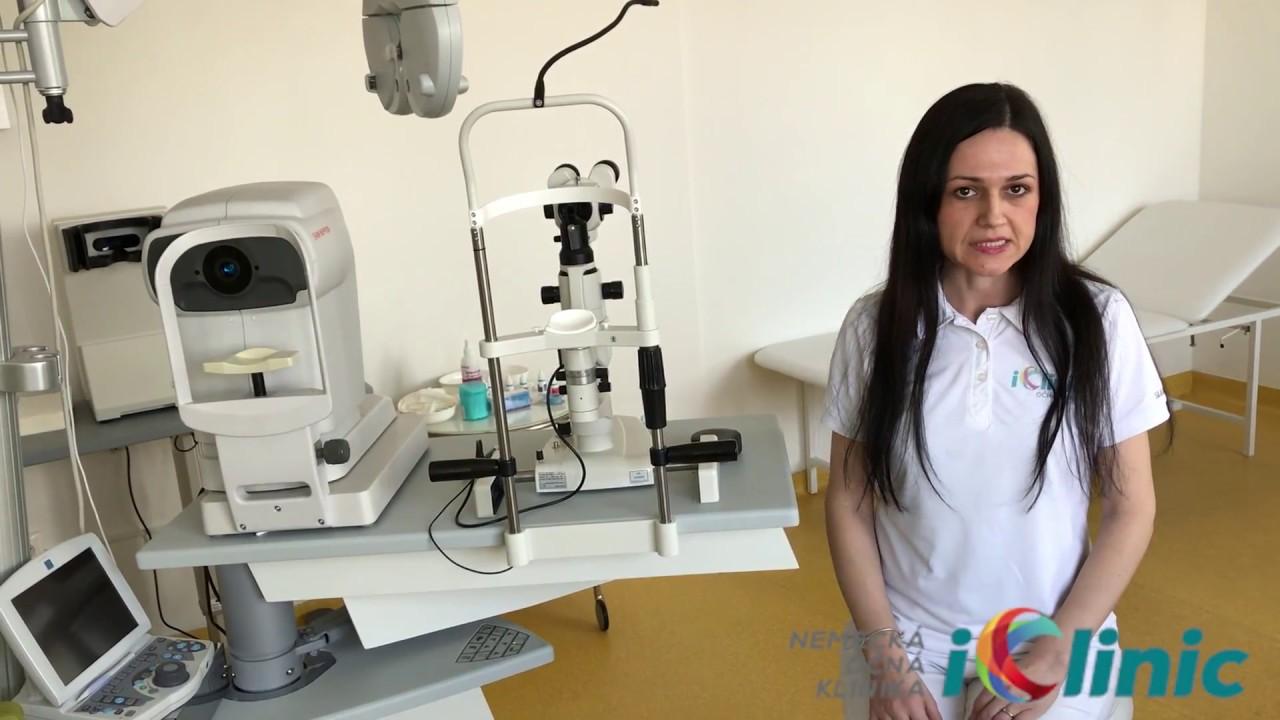 145e4723c Jarmila Belanji o meraní vnútroočného tlaku, hrúbky rohovky a jej  vnútorných vrstiev