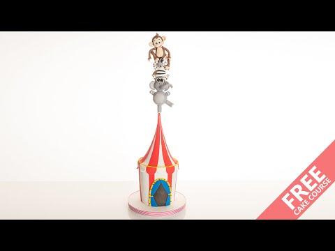 Circus Balancing Acts   Cake Tutorial   CakeFlix