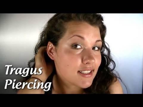 Piercing selber anleitung tragus stechen rook piercing