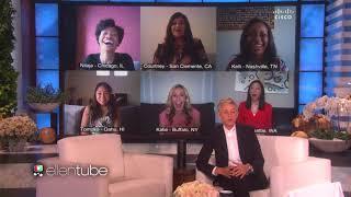 Ellen Show Cisco Telepresence Integration