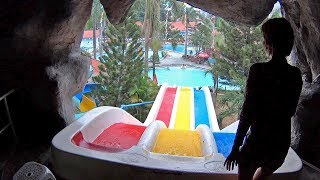 Racing Water Slide at Thanh Le Water Park