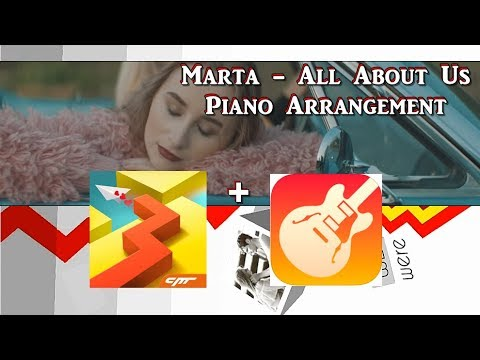Marta - All About Us (Piano Arrangement by me)