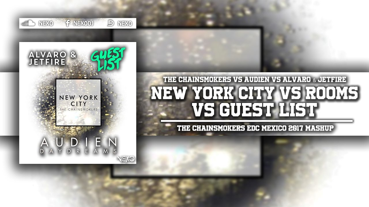 New York City Vs Rooms Chainsmokers