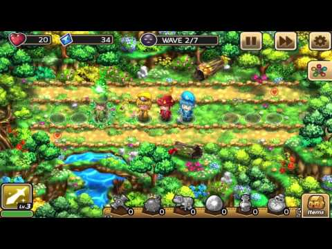 Eldoron Defense: Gameplay #1 - Basic Gameplay