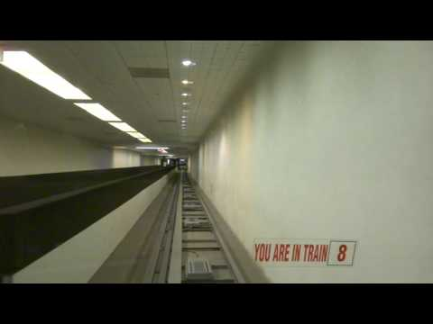 Exclusive: Ride on the Subway Train at Houston George Bush IAH Airport