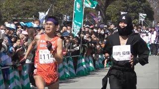 『忍者』川内優輝、公務員ラストラン! 第4回久喜マラソン 2019.3.24