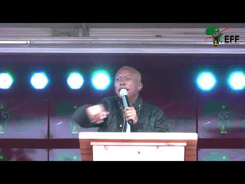CIC Julius Malema address - George, Western Cape (Expropriation of Land Rally)