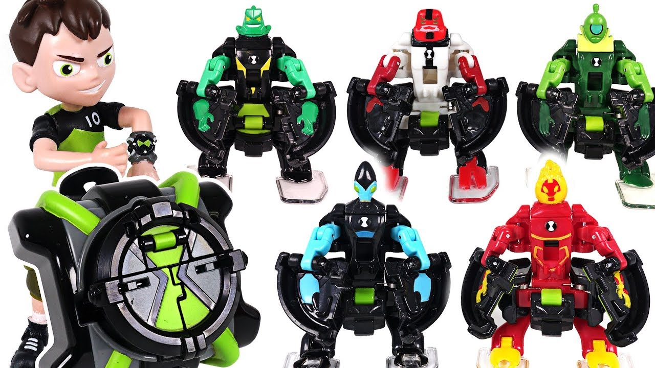robot insects appeared ben 10 omni launch transform
