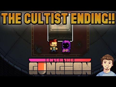 Enter the Gungeon Cultist Ending + Final Boss Ancient and Venerable High Dragun!!