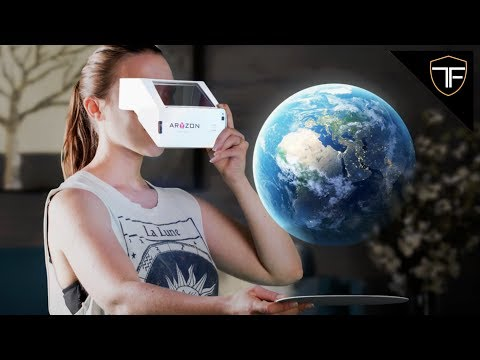 BEST VR Headset - 3D Augmented Reality for Every Smartphone