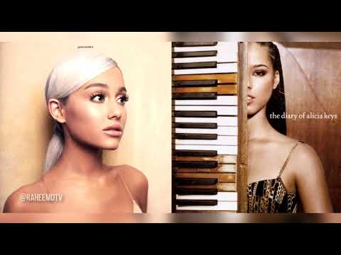 Ariana Grande X Alicia Keys - No Diary To Cry In (Mashup)
