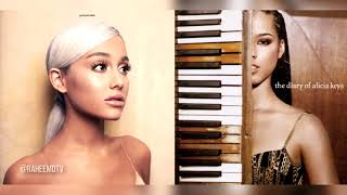 Gambar cover Ariana Grande x Alicia Keys - No Diary To Cry In (Mashup)