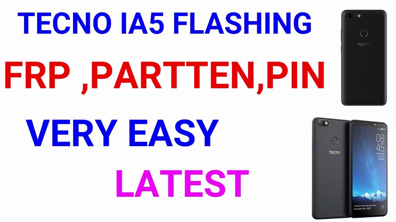 TECNO IA5 FRP & FLASHING & EDL TESTING POINT