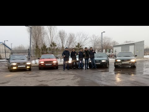 Вторая встреча Audi B4/B3 Club Astana. Нас уже больше. Ауди 80 Б4 и Б3